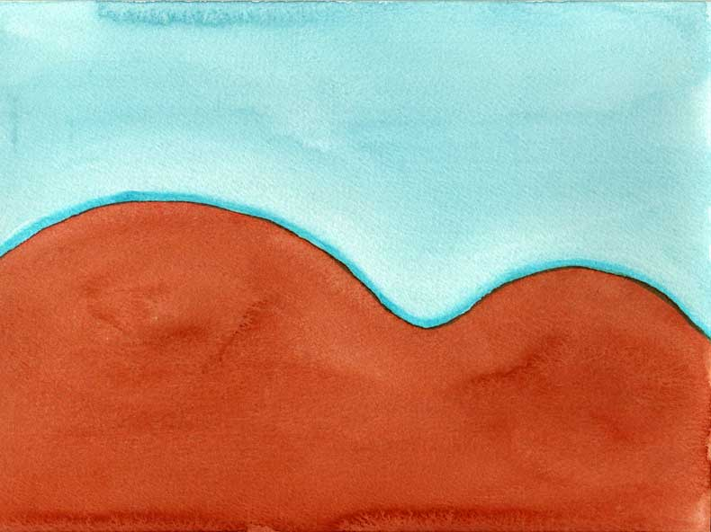 mountains (outback)