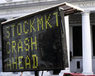 stock market crash ahead